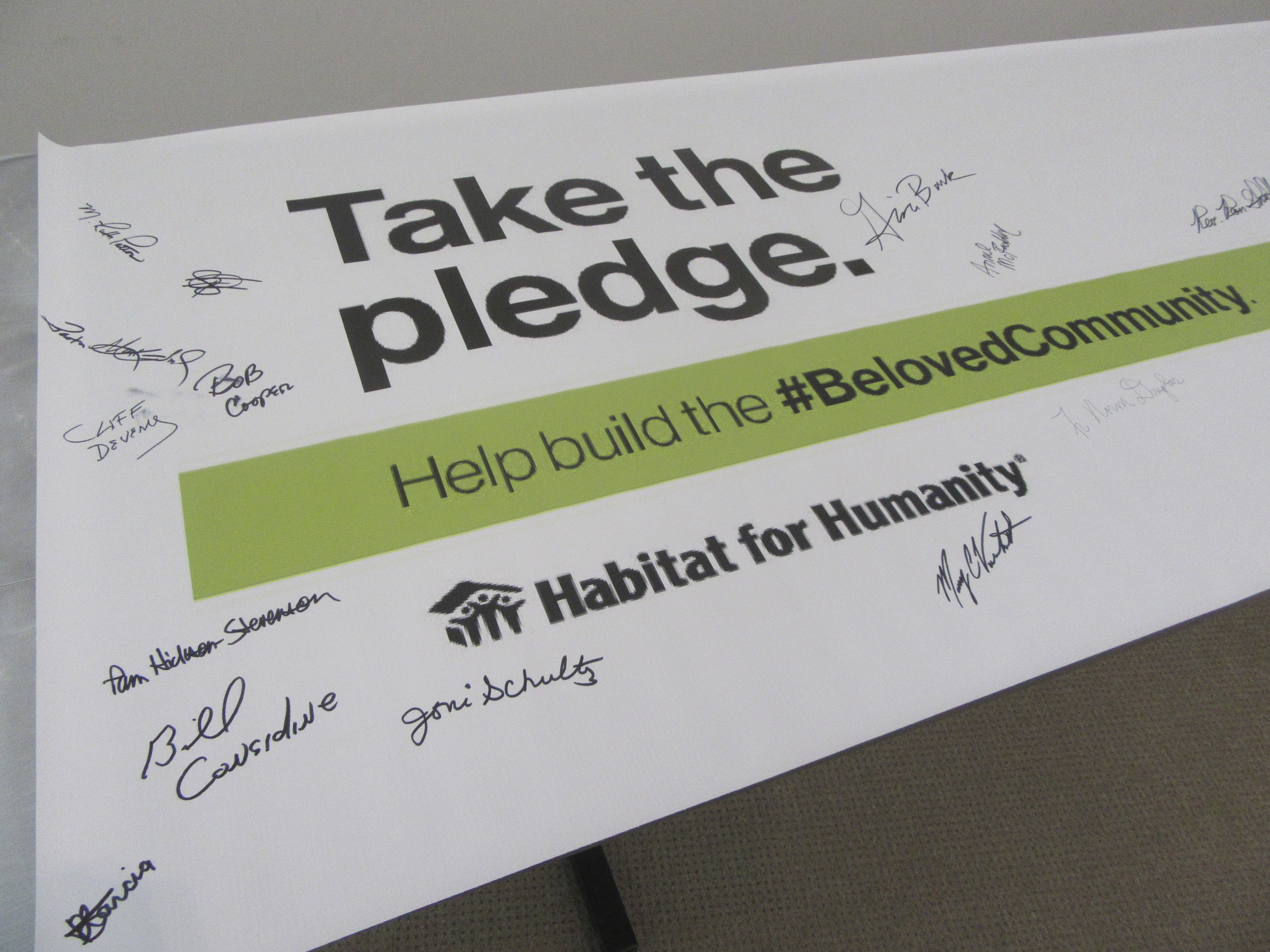 "Habitat joins nationwide ""Beloved Community"" initiative"