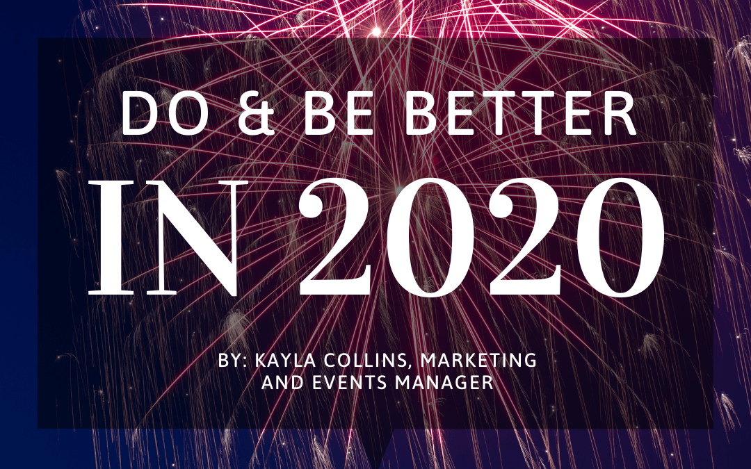 Do & Be Better in 2020
