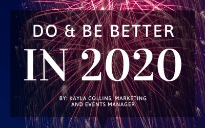 Do & Be Better in 2020