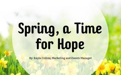 Spring, a Time for Hope